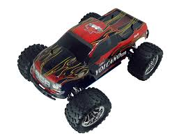 Nitro Gas 4 Wheel Drive RC Escalade Monster Truck | Black Nitro RC Truck