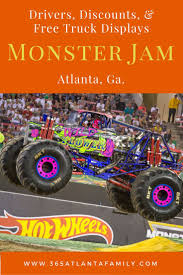 100 Monster Trucks Atlanta FREE Truck Displays Announced For Jam Georgia
