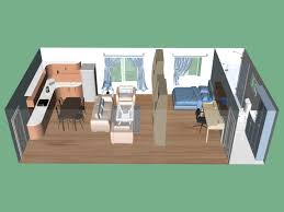 Efficiency Apartment Plans Bedroom Apartments Small For Tiny