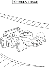 Full Image For Free Printable Coloring Pages Of Race Cars Car Driver