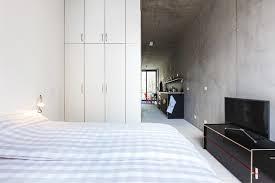helles schlafzimmer loft apartment berlin friedrichshain