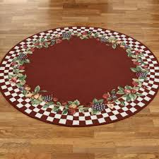 Decorative Cushioned Kitchen Floor Mats by Fruit Kitchen Decor Touch Of Class