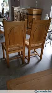 chaise en ch ne massif chaise chêne massif a vendre à binche 2ememain be