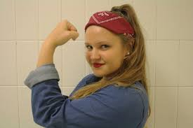 Rosie The Riveter Halloween Tutorial by Rosie The Riveter Halloween