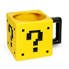 Mario Question Mark Block Lamp by Super Mario Power Up Block Mug Canecas Pinterest Mario Bros