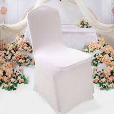 Amazon.com: Cosway Set Of 50pcs White Chair Covers Spandex ... Us 429 New Year Party Decorations Santa Hat Chair Covers Cover Chairs Tables Chafing Dish And Garden Krush Linen Detroit Mi Equipment Rental Wedding Party Chair Covers Cheap Chicago 1 Rentals Of Chicago 30pcslot Organza 18 X 275cm Style Universal Cover For Sale Made In China Cute Children Cartoon Pattern Frozen Baby Birthday
