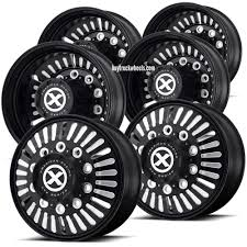 Black Tandem Axle 22.5 Semi Truck Wheel Kit (Alcoa Style) – Buy ... Effects Of Upsized Wheels And Tires Tested 7 Tips To Buy Cheap Truck Fueloyal Autosport Plus Cray Corvette Rims 2001 Freightliner Fld132 Xl Classic Misc Wheel Rim For Sale 555419 Used 245 Ball Seat 10 Hole 1791 Sell My New Used Tires Rims More Black Tandem Axle 225 Semi Wheel Kit Alcoa Style Karoo By Rhino Gear Alloy 726 Big Block Milled For Sale Cheap New Used Truck For Sale Junk Mail