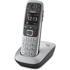 téléphone fixe sans fil gigaset e560 argent téléphone sans fil