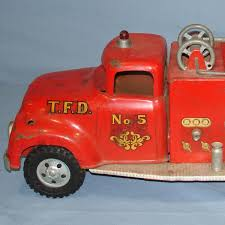 VINTAGE TONKA FIRE DEPARTMENT SUBURBAN PUMPER #950 PRESSED STEEL ... Vintage 1950s Tonka Fire Truck No 5 Steel Pumper Ford Metal Rare Original Tfd Tonka Engine Toy 33 Inch Vintage Bodnarus Auctioneering Fire Truck Ladder Water Cannon Crank Siren Fire Truck Is In Auctions Online Proxibid 1970s 1960s No5 Original Joe Lopez On Twitter 55250 Pressed Steel And Box Of Toys Truckitem 333c43 Look What I Found 70s Huge Toy Steel Engine 1 Listing