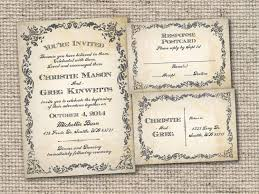Free Wedding Invitation Templates Vintage Unique Wordings Rustic Download Also