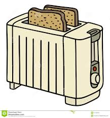 Download Toaster Stock Vector Illustration Of House Drawing