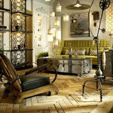 Mosaic Coffee Table Isometric Concrete Decoration Interior