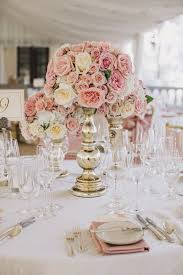 Beautiful Pink And Gold Wedding Decor Pictures
