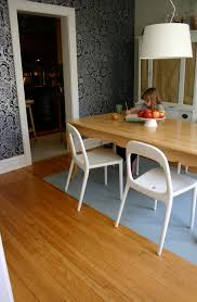 With Children In The House A Painted Dining Room Floor Is Perfect Alternative To Rug