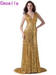 popular gold sequin evening dress buy cheap gold sequin evening