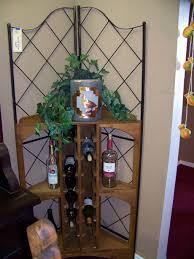 Attractive Wine Rack Furniture Design Ideas For Room Decor Corner Cabinet As