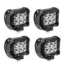 Beamcorn 4 Inch18W Led Spot Work Light Led Light Pod Off Road Lights ... Small 26 10w Led Offroad Auto Lamp Suv Work Light 700lm Truck Amazoncom Shanren 2pcs 4 18w Cree Bar Spot Beam 30 48w Work 5d Lens Offroad Tractor Flood Lights 12v Par 36 Rubber 5 In Round Incandescent Black 1 Bulb Safego 4pcs 18w Led Work Light Bar 4x4 Car Led Working China 7 Inch 36w Waterproof For Jeeptractor 4pcs 4800lm Ip65 For Indicators Motorcycle Closeout Spotflood Driving Lights Trucklite 8170 Signalstat Auxiliary Stud Mount Rectangular 6000k Fog Off Road Boat 10x 4inch Tri Row 4wd Alterations
