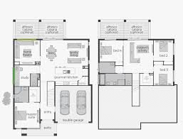 100 Floor Plans For Split Level Homes Garage Elegant Tri House 1970s