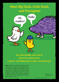 Porcupine Eating Pumpkin And Talking by Duck Duck Porcupine A Duck Duck Porcupine Book Salina Yoon
