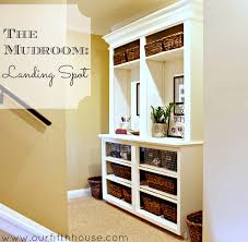 turning a hallway into a mudroom our fifth house