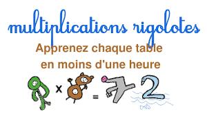 comment apprendre table de multiplication apprendre facilement les tables de multiplication