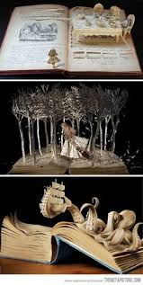 Awesome Carving Inspired By Each Books Story