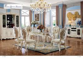 barock antik stil esszimmer set holz marmor tisch klassische 6x stühle stuhl