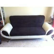 canap noir et blanc photos canapé noir et blanc but