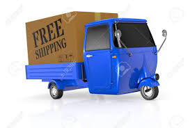 100 Electric Mini Truck One With One Big Carton Box And Text Free Shipping