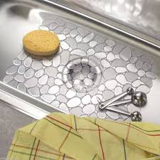 kitchen amazing kitchen sink rugs and mats sink protector rack