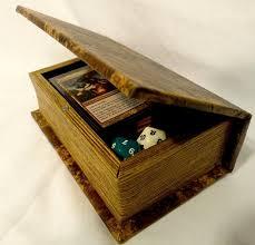magic edh deck box custom steunk deck box for mtg sleeved cards for edh