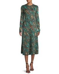 100 Missoni Sydney Metallic AnimalPrint LongSleeve Dress