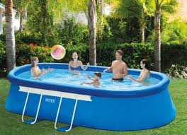 The Intex Oval Frame Above Ground Pool
