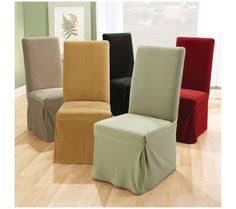 Sure Fit Set Of 2 Stretch Pique Dining Room Chair Slipcovers