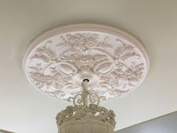 Small Two Piece Ceiling Medallions by White Ceiling Medallion Collection Ceiling