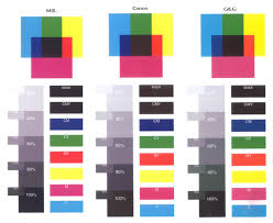 Pleasant Design Color Test Page Printer Compare Cheap Versus Expensive Ink Jet Inks Neil Slades Amazing