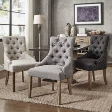 Burke Slipper Chair With Buttons by Accent Chairs Living Room Chairs For Less Overstock Com