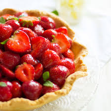 erdbeerkuchen erdbeere marmelade mürbeteig vanille