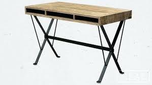 bureau metal bois bureau metal et bois chaise bois et metal bureau informatique ikea