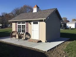 custom amish built sheds