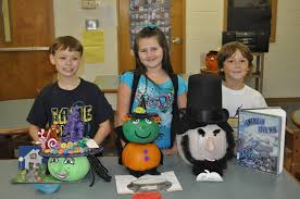 Pumpkin Contest Winners by Centralhatchee Elementary Book Character Pumpkin Contest