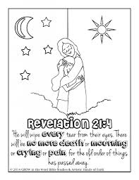 Free Coloring Pages With Bible Verses For Children Artist Will Even Take Requests If You