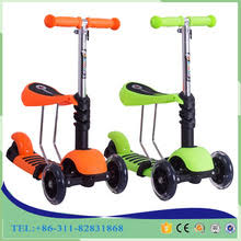 Cheap Price Scooter 3 Wheel 2 In 1 For Kids