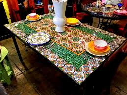 mosaic dining table house plans and more house design