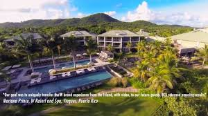 100 Vieques Puerto Rico W Hotel Resort Spa Resort Property Video _