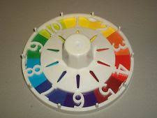 Vintage 1985 Milton Bradley LIFE Board Game SPINNER Wheel Replacement Part Piece