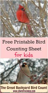 Share It! Science : Free Bird Counting Printable: Great Backyard ... The Joy Of Bird Feeding Essential Guide To Attracting And Birders Break Records For Great Backyard Count Michigan Radio New Guides Backyard Birding Add Birders Joyment Aerial Birds Socks Absolute Birding Co East Petersburg Shopping Authentic Common Redpoll Photosgreat South 100 Watcher Attract To Your Best 25 Watching Ideas On Pinterest Pretty Birds In Burlington Vermont Photos In Winter Get Ready For Photo 20 Best Birdfeeders Images Feeding Station