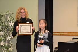 South Shore Conservatory congratulated piano student May Ng of