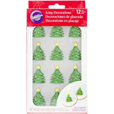 Royal Icing Decorations Christmas Trees