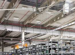 large industrial ceiling fan sizes and specifications swifter fans